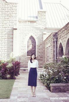 Kim Ha Neul for Marie Claire