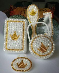 kit pente escova customizado