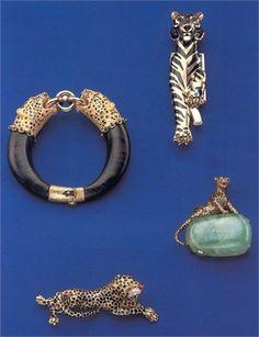 1) gioielli set tigre - Wallis Simpson