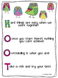 Teacher Mom of Wise Owls-Posters & Writing: My Gift to You! Owl Theme Classroom, Classroom Posters, Classroom Displays, Kindergarten Classroom, School Classroom, Classroom Organization, Classroom Management, Classroom Ideas, Behavior Management