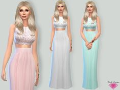 Sims 4 CC's - The Best: Lyndia Dress by Karla Lavigne