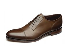 "Loake ""Churchill"" Premium oxford shoe, made in England. - Goodyear Welted Leather Soles - Fully Leather Lined - Leather insoles - Last Swing / F fitting"