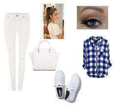 """Untitled #241"" by girlygirldreamsx ❤ liked on Polyvore featuring Dr. Denim and Keds"