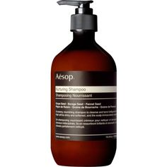 AESOP Nurturing shampoo 500ml (525.340 IDR) ❤ liked on Polyvore featuring beauty products, haircare, hair shampoo and aesop
