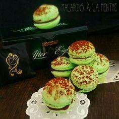 After-Eight Macarons