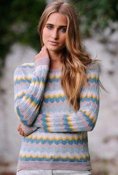 Cashmere Wave Knit Jumper - Women's Jumpers | Brora