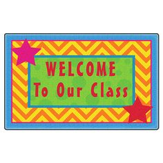 Flagship Carpets Silly Welcome Mat Multi >>> Check out the image by visiting the link-affiliate link. Classroom Rugs, Classroom Ideas, Cool Rugs, Welcome Mats, Carpets, Kids Room, Room Decor, Fun, Check
