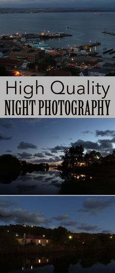 Learn how to take high quality night landscapes.