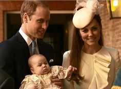 TRH The Duke and Duchess of Cambridge arriving with Prince George for his Christening 23rd october 2013