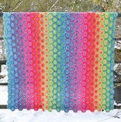 Rita Blanket/Afghan (PDF Crochet Pattern)