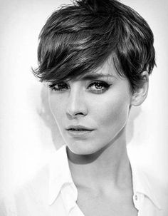 100 best pixie cuts pixie haircut for thick hair wavy, short hair cuts for women Pixie Haircut 2014, Women Pixie Haircut, Short Pixie Haircuts, Pixie Bangs, Edgy Short Haircuts, Cut Bangs, Undercut Pixie, Modern Haircuts, Bob Haircuts