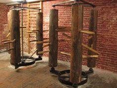 Daily Kung Fu: Hung Gar's Esoteric Wooden Dummies