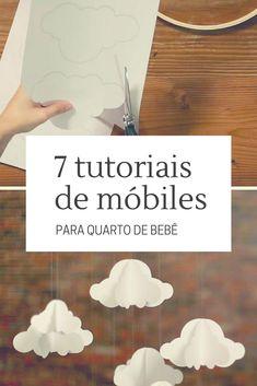 58 Super ideas for diy baby mobile tutorial decoration Diy Mobile, Bussines Ideas, Diy Bags Tutorial, Diys, Diy Nursery Decor, Diy Bebe, Dream Baby, Dollar Tree Store, Baby Crafts