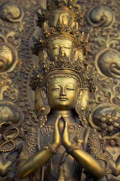 Ancient buddha statue, China