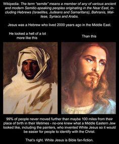"""""""White Jesus is bible fan fiction"""" bahahahahahahahaha....truth"""