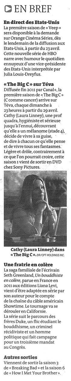 """""""En bref"""" (Le Monde Télévisions)"""