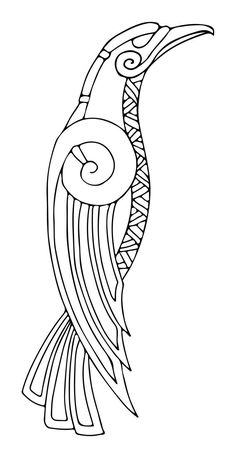 Great Photo Embroidery Patterns celtic Strategies Embroidery has been online forever—that is rarely a strong exaggeration. Art Viking, Viking Symbols, Viking Raven, Viking Woman, Norse Tattoo, Viking Tattoos, Celtic Raven Tattoo, Celtic Patterns, Celtic Designs