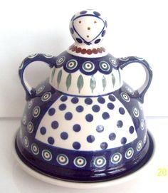 Polish Pottery Cheese Lady - on etsy!