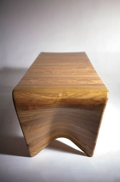 Kuria table designed by HenkaLab Wood Furniture, Furniture Design, Lab, Stool, Home Decor, Timber Furniture, Decoration Home, Room Decor, Labs