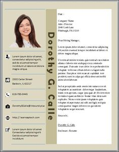 Word Doent Resume Template | 11 Best Resume Template Microsoft Word Images Microsoft Word