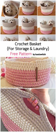 Crochet A Cutest Storage Basket - Free Pattern Knitting For BeginnersKnitting For KidsCrochet ProjectsCrochet Scarf Crochet Home, Crochet Gifts, Crochet Bags, Diy Crochet Rug, Yarn Projects, Crochet Projects, Knitting Patterns, Crochet Patterns, Crochet Accessories Free Pattern