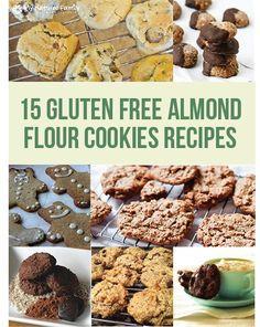 15 Gluten Free Almond Flour Cookie Recipes