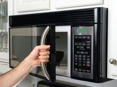 Receta de Como limpiar el microondas