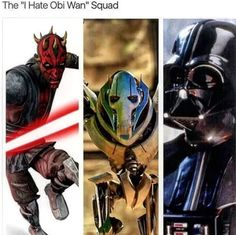 Hatred for Obi-Wan™