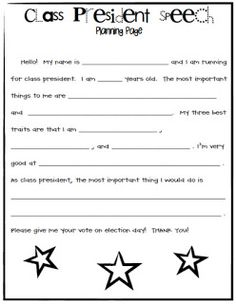 Speech writing for kids