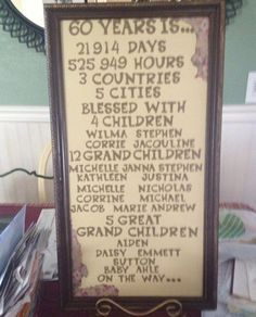 Image result for 60 Th Anniversary Party Ideas Pinterest 60th Anniversary Parties, Anniversary Decorations, Anniversary Ideas, Diamond Anniversary, Anniversary Cards, Parents Anniversary, Anniversary Jewelry, Happy Anniversary, 60th Birthday Party