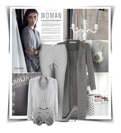 """Shades Of Gray"" by diva1023 ❤ liked on Polyvore featuring John Lewis, Coast, Givenchy, Pierre Hardy, Cathy Waterman, BaubleBar, women's clothing, women, female and woman"