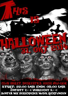 Der beste Halloween Flyer ever ;D