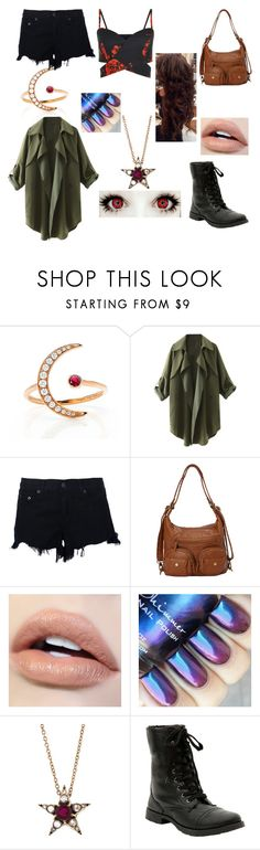 """""""Scarlet Witch Remake"""" by cometgirlfresh ❤ liked on Polyvore featuring EF Collection, rag & bone, Ampere Creations and Selim Mouzannar"""