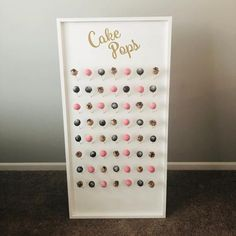 Cake Pop Wall Stands Stand Pops