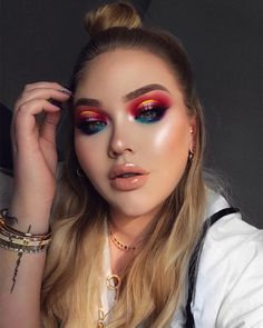 "287.9k Likes, 2,190 Comments - NikkieTutorials (@nikkietutorials) on Instagram: ""sometimes you gotta grab colors by the balls and show them who's boss! ✨ NEW Video now up on my…"""