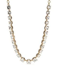 kate spade new york  Faceted Crystal Collar Necklace