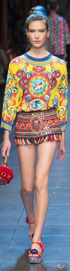 Spring 2016 RTW Dolce & Gabbana