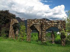 IMG_4917 South Tyrol, Gazebo, Arch, Outdoor Structures, Garden, Kiosk, Longbow, Garten, Pavilion