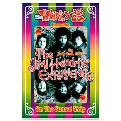 Iron Butterfly Whisky A Go Go  Poster  13x19