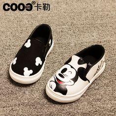 J.g Chen los 2015 niños de explosión zapatos Hello kitty niñas zapatillas de deporte Mickey zapatos para niños niños zapatos PU Slip On 21 30 tamaño en Zapatillas Deportivas de Bebés en AliExpress.com | Alibaba Group