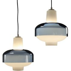 Large Quantity Old Stock Tapio Wirkkala 4619/4620 Pendants, for IIttala by Idman | See more antique and modern Chandeliers and Pendants at https://www.1stdibs.com/furniture/lighting/chandeliers-pendant-lights