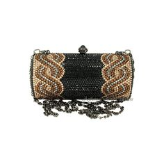 Anthony David® Swarovski Crystal Handbags Evening Purses Bags AD10 Black and other apparel, accessories and trends. Browse and shop related looks.