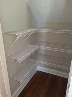 The Pesky Under The Stairs Closet So May Of Us Have Elfa