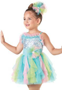 Weissman™ | Cascading Tulle Skirt Dress