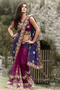 Beautiful saree and colours