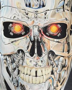 T-800 by Tracey Lawler [©2016]
