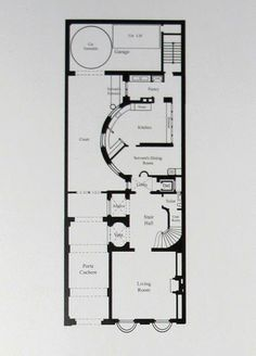 Ogden Codman's house, 7 East 96th Street | Ground Floor Plan | BIG OLD HOUSES