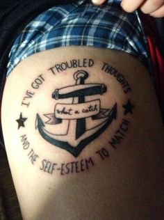 Fall Out Boy Tattoos What A Catch Donnie