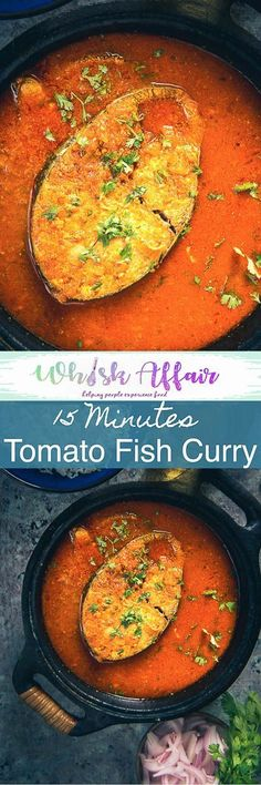 Tomato fish curry is an easy to make Fish Curry and is made in a tomato based gravy. It goes very well with steamed rice. Fish Recipes Trout, Best Fish Recipes, Prawn Recipes, Fried Fish Recipes, Most Popular Recipes, Curry Recipes, Lunch Recipes, Seafood Recipes, Indian Food Recipes