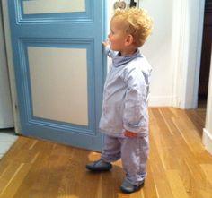 Le pyjama d'Augustin > Récup vieux pyjama et chemise d'homme (patron sur demande)